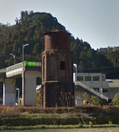 厳木駅の給水塔