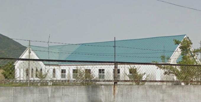 小倉駐屯地の教会跡