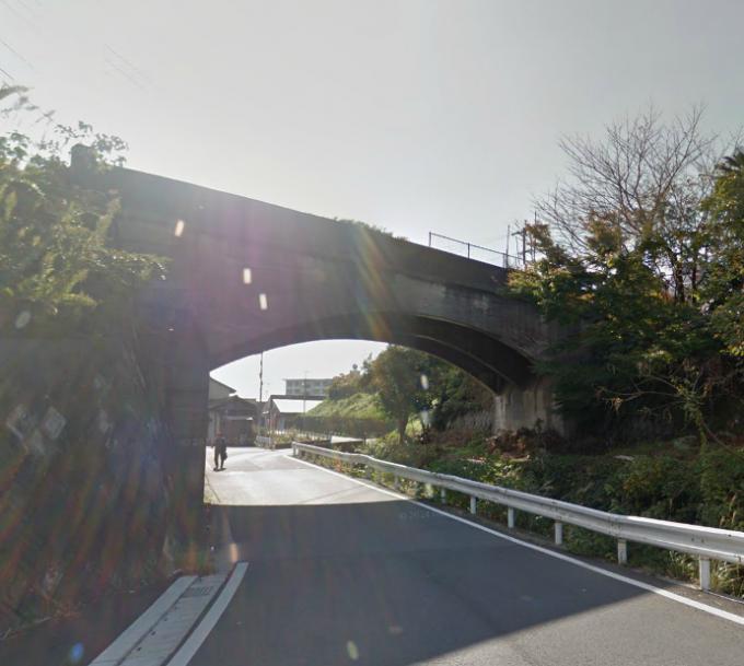 大藪小学校の廃橋