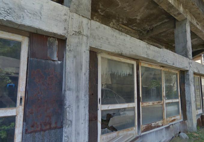 塩原温泉の廃施設