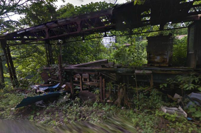 塩谷町船生の廃墟