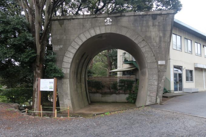 鉄道連隊演習線訓練用トンネル