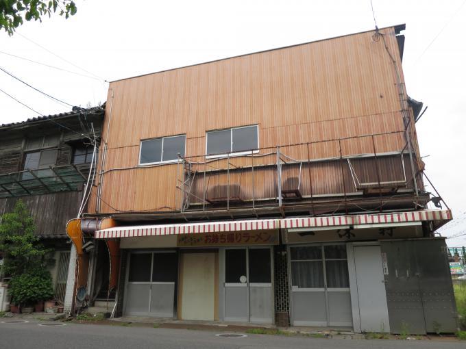 佐嘉神社周辺の廃墟街