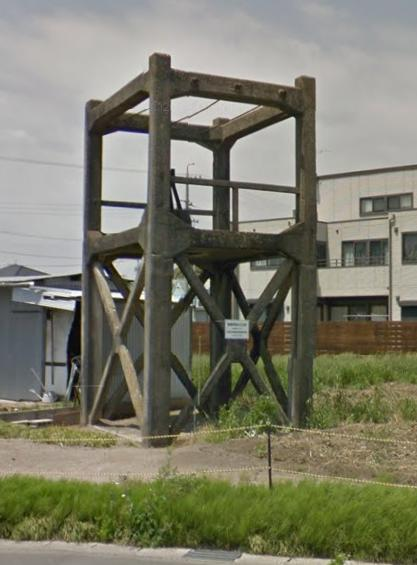 旧・豊川電話装荷線輪用櫓