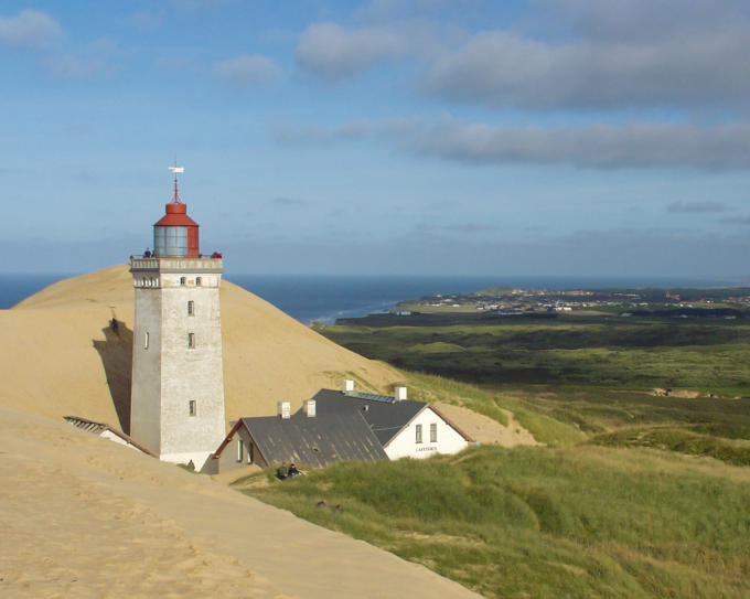 ルビャオ・クヌード灯台(Rubjerg Knude lighthouse)