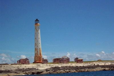 グレート・イサク・キー(Great Isaac Cay)の灯台