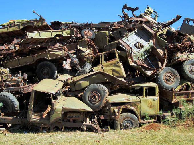 エリトリアの戦車の墓場