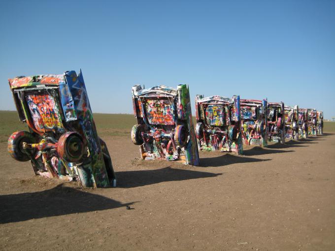 キャデラック牧場(テキサス州) キャデラック牧場(テキサス州) - 廃墟検索地図 廃墟検索地図は