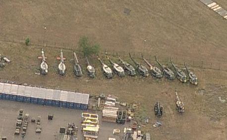 コールマン空軍基地のUH-1 - 廃墟検索地図