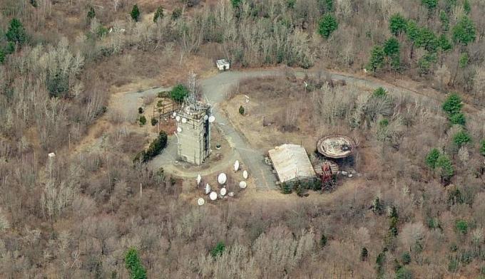 ボストンヒルのレーダー開発施設跡