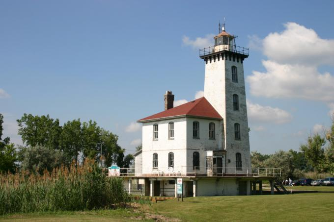 サギノー川灯台(Saginaw River Rear Range Light)