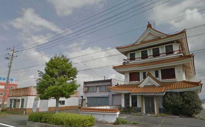喫茶店「関所」(新居町の城)