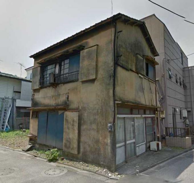 足立区竹の塚5丁目の廃屋