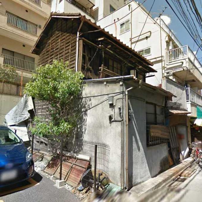 墨田区錦糸3丁目の廃屋