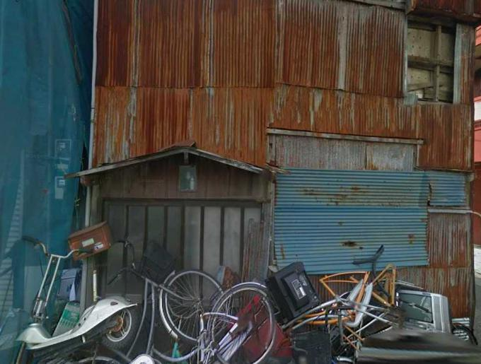 葛飾区宝町2丁目の廃屋