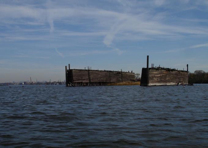 スタテン島の船の墓場