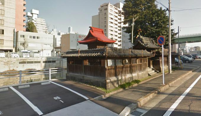 中村区名駅南2丁目の神社