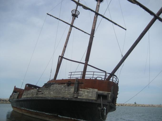 オンタリオ湖ジョーダン港の難破船