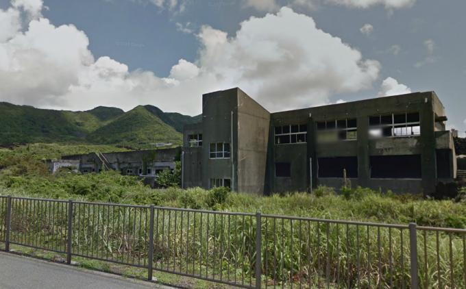 旧・阿古小中学校